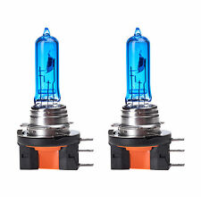 2x H15 Headlight DRL Upgrade Halogen Bulbs Super White Xenon Effect 5000K 15/55W