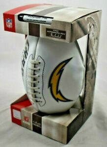 New Los Angeles Chargers Full Size Embroidered Football Signature Autograph
