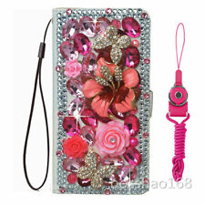 for Motorola G 5G PLUS/EDGE S/E6S/E7/E6/E6i/E7i Bling Wallet Leather Phone Case