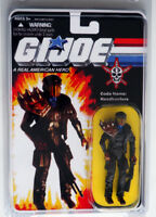 GI JOE 2016 Custom Carded Cobra Headhunters 3.75 Action Figure MOC MIP