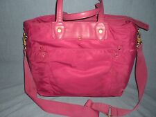 Marc By Marc Jacobs Preppy Nylon Eliz A Baby Pink Diaper Bag
