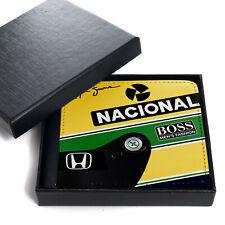 Retro Mens Wallet Ayrton Senna Vintage Dad Christmas Gift OWC15