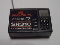 New Spektrum SR310 3-Channel 2.4ghz Receiver (Direct Replacement Spare Part)