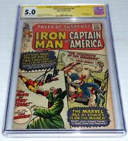 Tales of Suspense #61 CGC SS Signature Autograph STAN LEE Mandarin App. Iron Man