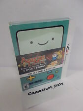 ADVENTURE TIME COLLECTOR'S EDITION - NINTENDO 3DS - NUOVO NEW - NTSC VERSION