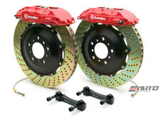 Brembo Rear  GT Brake BBK 4pot Red 380x32 Drill Escalade Chevy GMC 1500 07-14