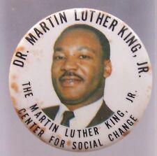 Dr. Martin Luther King Jr. Center For Social Change pinback button