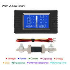 Digital Current Voltage Solar Power Meter Multimeter Batt-ery Monitor Meter Z8N8