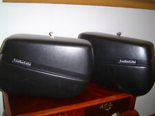 New LeatherLyke Saddlebags For Kawasaki Vulcan 900 Classic 2009 Motorcycle