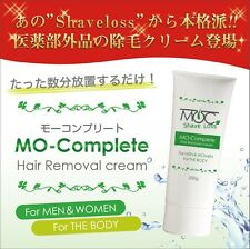 """""""NEW""""Shaveloss  Mo-Complete  Hair Removal cream 200gx24  MADE IN JAPAN  No.BP021"""