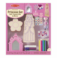 Melissa and Doug - Decorate-Your-Own Wooden Princess Set (BNIB) - 19543