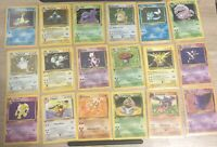 vintage pokemon cards lot (10 Cards) Guaranteed Holo & 1st Edition Every Lot