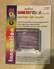 Game Boy Color System Light + Magnifier 40% NEW in box Atomic Clear Purple