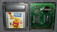 Winnie The Pooh Adventures In The 100  (Nintendo Game Boy Color, 2000) Authentic