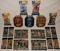 Jolteon, Flareon & Vaporeon Tins 37 Booster Pack Lot - ALL NEW Factory Sealed