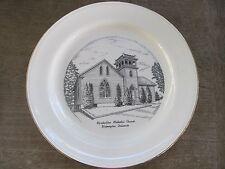 "Vtg. Porcelain approx10"" Plate..Marshallton Methodist Church in Wilmington, DE.."