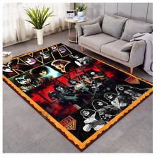 Kiss Rock & Roll Slip Rug Carpet 120 x 180CM Rug
