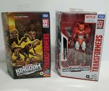 Hasbro Transformers War For Cybertron Elita-1 And Paleotrex Figure Lot NEW
