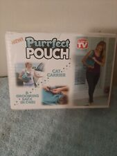 Purrfect Pouch Cat Carrier & Grooming Sack in One Brand New