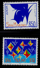 SAN MARINO   SCOTT#  1271-1272   MNH  ART TOPICAL/EUROPA CEPT
