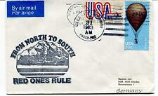 1983 USCGC Northwind From North to South Red Ones Rule Mobile Polar Arctic Cover