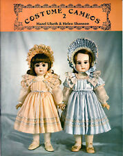Vintage doll dress pattern Costume Cameos 2 Helen M. Shannon and Hazel Ulseth