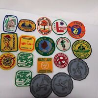 Girl Scouts Vintage Lot of 18 Badges Canadian Patches Set 1