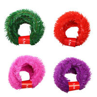 5.5m Hanging Tinsel Strings Christmas Xmas Tree Party Holiday DIY Home Decor Hot