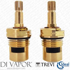 "S960025NU Pack of 2 Ideal Standard / Trevi 1/2"" Ceramic Disc Flow Cartridge Inch"