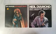 NEIL DIAMOND LP Lot - Hot August Night I and II - Double Vinyl Record Albums