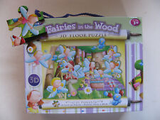 Jigsaws 3D Floor Puzzles 21 Pieces Pcs Various Museum Fairies In The Woods Slot