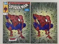 Spider-Man #1 Facsimile | Peach Momoko Virgin & Trade Dress | NM | Marvel, 2020