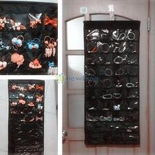 Wall Hanging Jewelry Organizer Storage Closet 80 Pocket Holder Store Display Bag