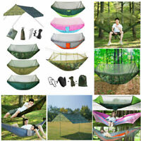 Outdoor Travel Camping Tent Hammock Double Person Swing Hanging Bed Mosquito Net