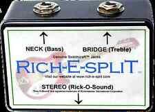 Rich-E-Split - Rick-O-Sound (Rickenbacker) Stereo Signal Split Box - NEW!
