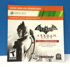 BATMAN ARKHAM CITY - PLAY AS CATWOMAN DLC AND ADD-ON CONTENT ONLY(XBOX 360) #27