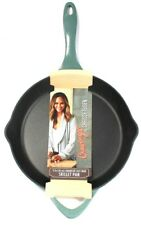 1 Ct Cravings By Chrissy Teigen 11 Inch Enameled Cast Iron Even Heat Skillet Pan