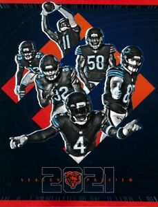 2021 CHICAGO BEARS OFFICIAL YEARBOOK JUSTIN FIELDS ROOKIE NEW MAKE AN OFFER