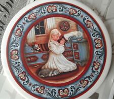 New Norway Suzanne Toftey Designs Ceramic Coaster Fjord Horses