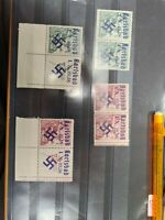 Czechoslovakia (Sudetenland) Wir Sind Frei, german Overprints.Unusual Lot  68