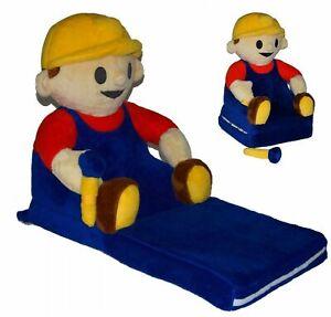 Kindersessel Plüschsessel Sofa Child Seat Mascot Bob der Baumeister Bob Builder
