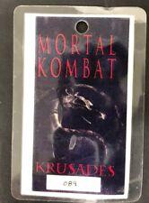 MORTAL KOMBAT CONQUEST Krusades tv show production entrance staff cast card