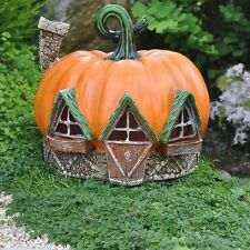 Pumpkin House Miniature Fairy Garden Gnome Hobbit House Cottage GO 16495