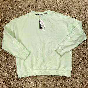 Adidas Basketball Daniel Patrick Harden  Crewneck Sweater Mens Large New Green