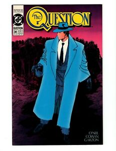 THE QUESTION #34 (VF-NM) 1990