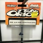 Team Orion Micro Aluminum Wheel Locknuts Blue 48026