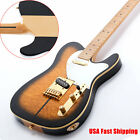 New Custom Electric Guitar TL Style Vintage C Shape Maple Neck Gold Hardware USA