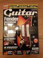 GUITAR & BASS MAGAZINE VOL.17 NO.9 ( NOVEMBER 2006 ) BERT JANSCH THE POGUES