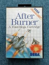 Sega Master System AFTER BURNER Arcade Hit! Sega Video Game