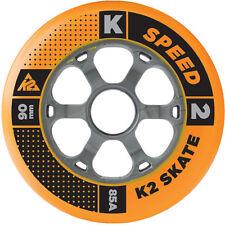 K2 Fitness Patin a roues Alignées rouleaux Set roue de rechange 90mm/85a (3053005)